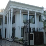 Front facade of the house in DLF, Phase-I, Gurgaon