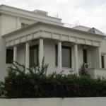 View of white house at Sushant lok, phase-I