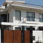 Front facade, DLF, phase-III, residence