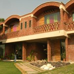 Front view of residence in palam vihar