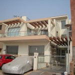 Front view of residence in E-space, Nirvana, South city-II